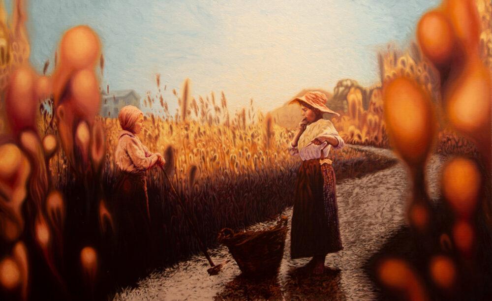 Herederas painting by Colin Hoisington