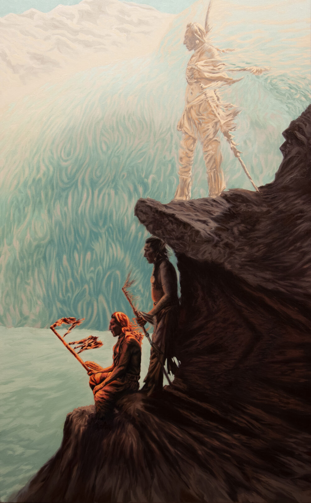 The Transient Self painting by Colin Hoisington